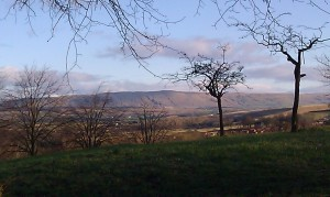 Campsies from Maryhill park